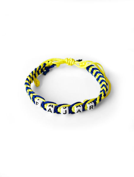 Wristband FAJAR Blue and Yellow