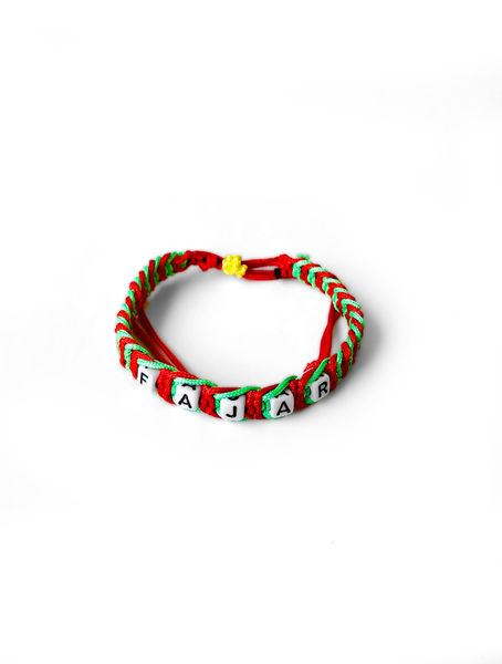 Wristband FAJAR Red and Green